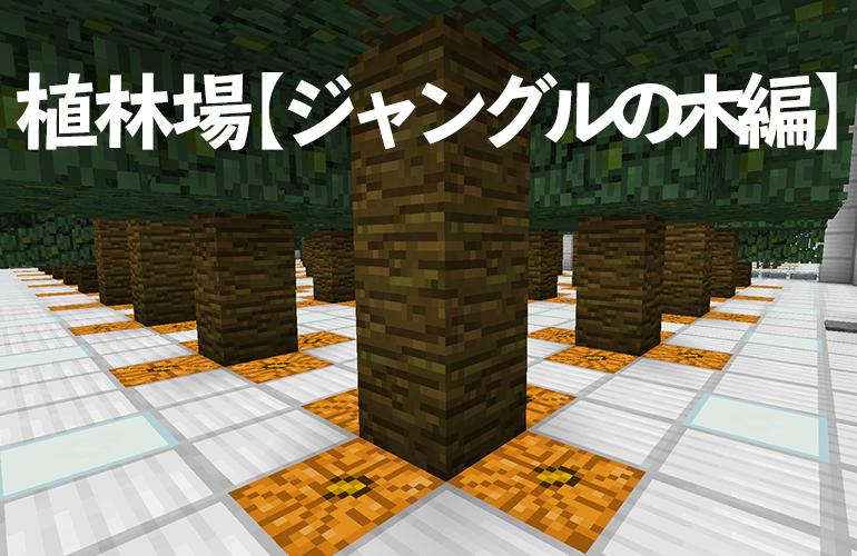 植林場【ジャングルの木編】